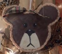PRIM TEDDY BEAR ORNIE