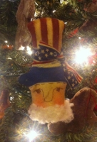 PRIMITIVE UNCLE SAM ORNIE