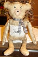 PRIMITIVE TEDDY BEAR